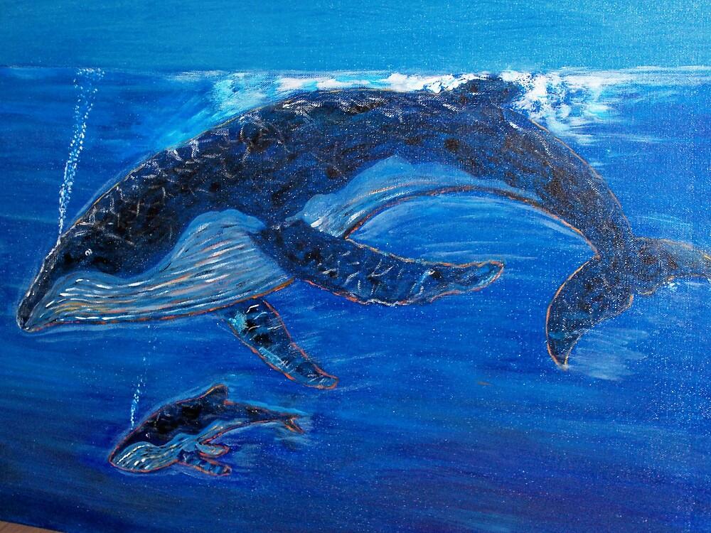 Into the Blue... by John Mikkelsen