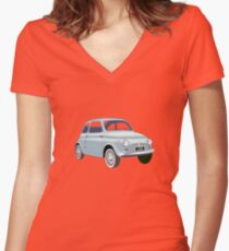 500 - Ciao Women's Fitted V-Neck T-Shirt