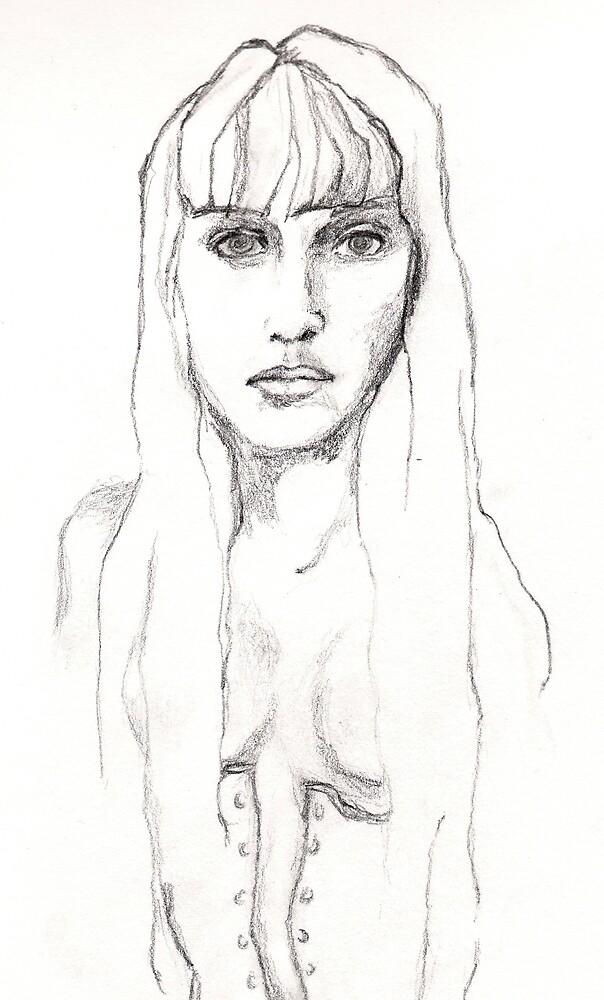 fairyfloss diaries #7: Lili (detail) by yasmine