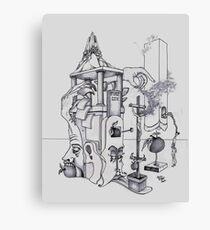 La compote du Dimanche Canvas Print