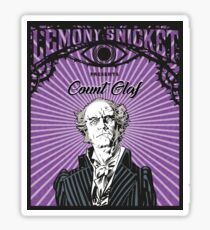 A series of unfortunate events Count Olaf Sticker