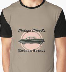 Vintage Wheels: Hudson Hornet Graphic T-Shirt