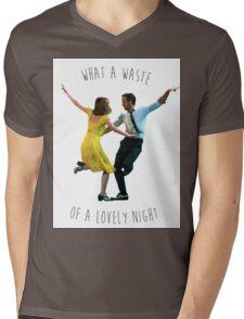 lovely night Mens V-Neck T-Shirt