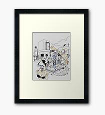 l'impossible reve Framed Print