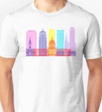 Oklahoma City V2 skyline pop Unisex T-Shirt