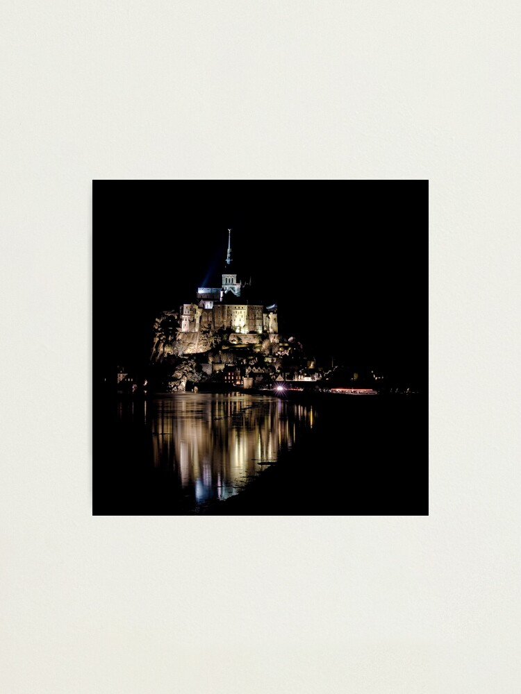 Alternate view of The Mont Saint Michel Photographic Print