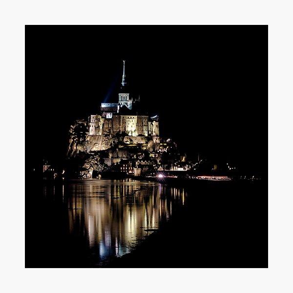 The Mont Saint Michel Photographic Print