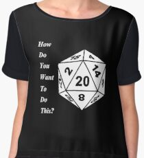 critical role Women's Chiffon Top