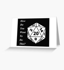 critical role Greeting Card