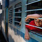 Train boy by Anthony Begovic