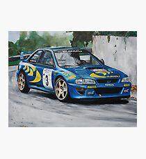 Colin McRae Subaru Impretza Photographic Print