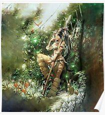 League of Legends - Nidalee Poster