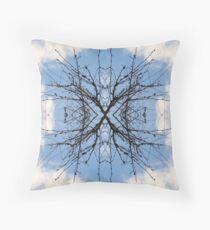 Saturnalien Structure #4 Throw Pillow