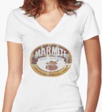 Marmite Vintage Women's Fitted V-Neck T-Shirt