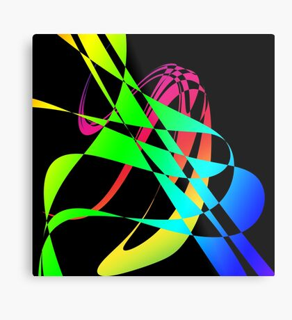 Spectrum Twist by Julie Everhart Metal Print