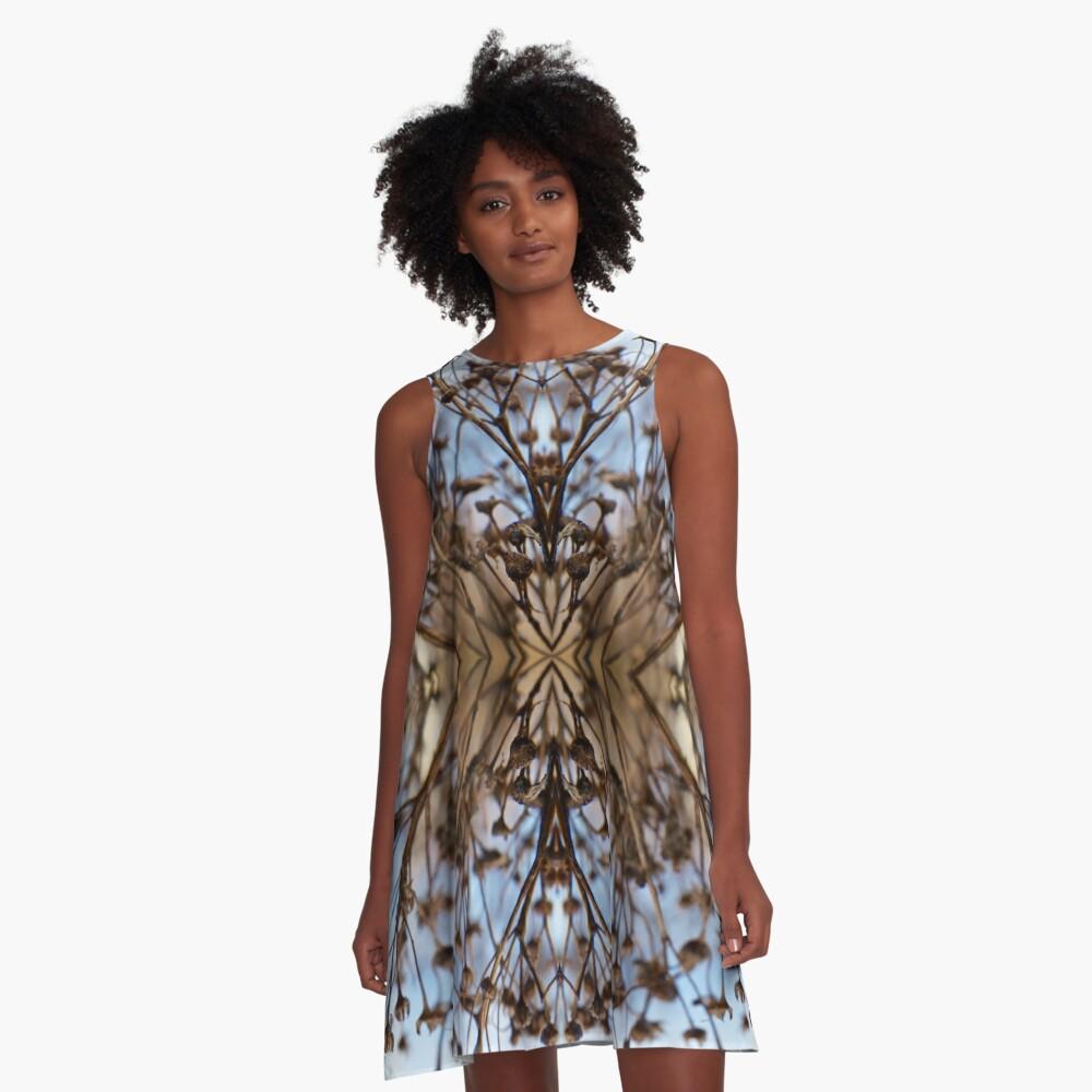 Saturnalien Structure #3 A-Line Dress Front