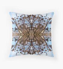 Saturnalien Structure #3 Throw Pillow