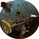 « Steampunk flight » par Dreonir