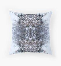 Snow Bow #5 Throw Pillow