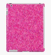 Pink Wool iPad Case/Skin