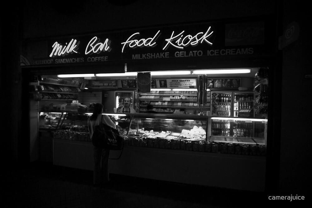 Milk Bar Noir by camerajuice