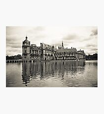 Chantilly Castle Photographic Print