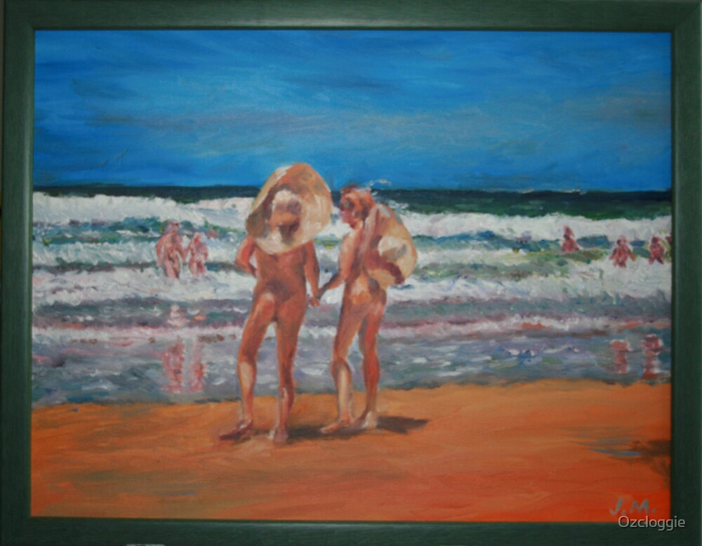 Samurai Beach, Anna Bay, NSW. Last annual nude beach, carnival.  by Ozcloggie