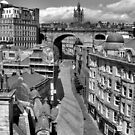 Old Newcastle Upon Tyne by Francis Drake