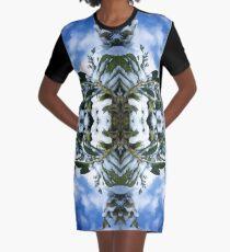 Snow Bow #3 Graphic T-Shirt Dress