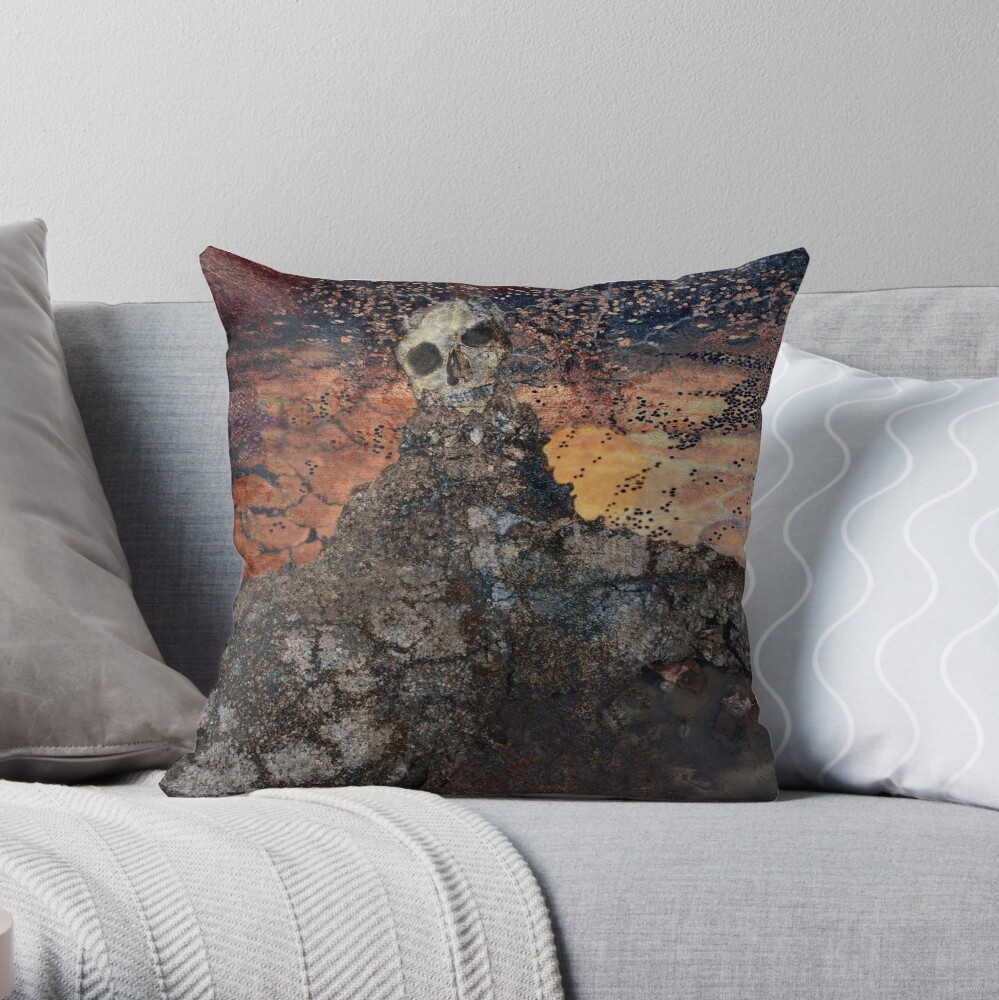 Dreamscape III Throw Pillow