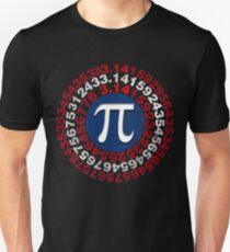 Captain Pi Funny Pi Day 2017 Superhero Style  Unisex T-Shirt