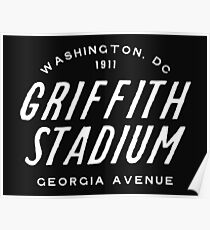 Griffith Stadium, Washington Poster