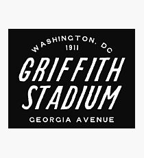 Griffith Stadium, Washington Photographic Print