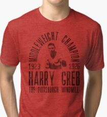 Harry Greb Tri-blend T-Shirt