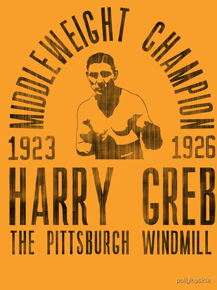 Harry Greb by pollylopsicle