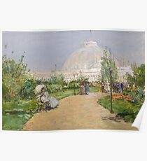 Childe Hassam - Horticulture Building, World S Columbian Exposition, Chicago Poster