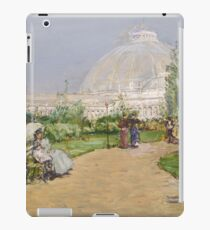 Childe Hassam - Horticulture Building, World S Columbian Exposition, Chicago iPad Case/Skin
