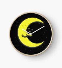 Umarmung Mond Liebe Uhr