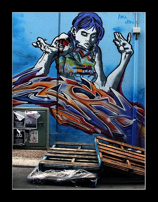 Street Art by Bryant Evans