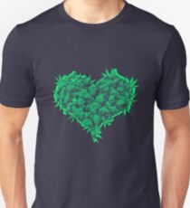 420 Heart Unisex T-Shirt