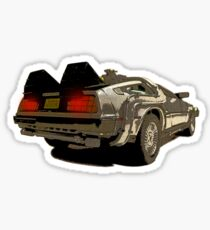 Back To The Future - Delorean Sticker