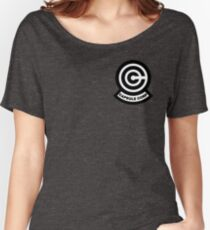 Capsule Corp Logo Women's Relaxed Fit T-Shirt