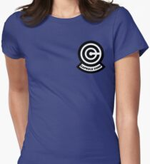 Capsule Corp Logo Women's Fitted T-Shirt