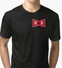Red Ribbon Army Logo Tri-blend T-Shirt