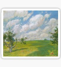 Childe Hassam - September Clouds Sticker