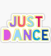Just Dance Sticker