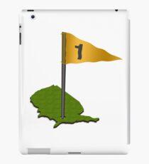 Golfing USA iPad Case/Skin