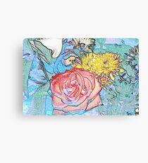FLOWER MASHUP Canvas Print