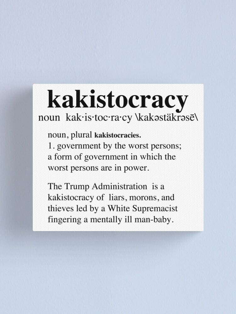 Kakistocratie