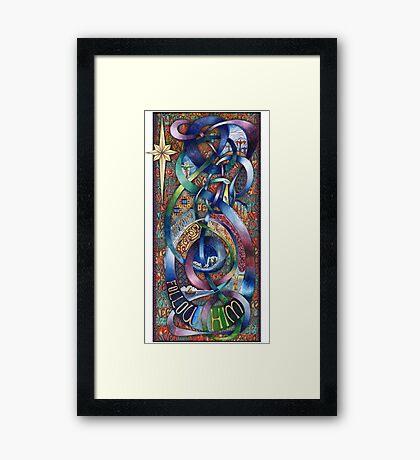 Follow Him - Original Framed Print